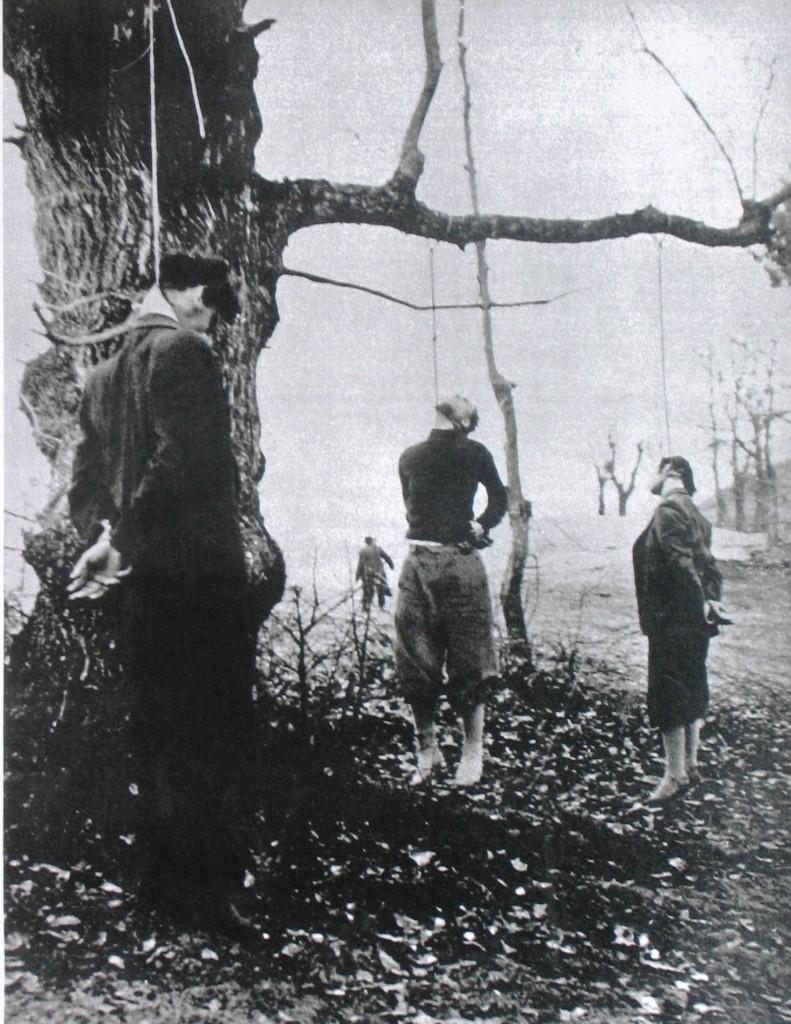 Patrioti impiccati dai repubblichini