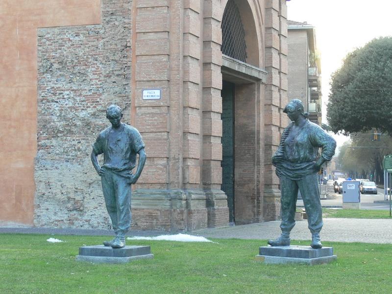 """""""Monumento al Partigiano e alla Partigiana"""" (1947) di Luciano Minguzzi"""